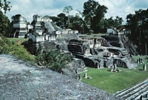 Tikal, a ruin city for the Mayan people