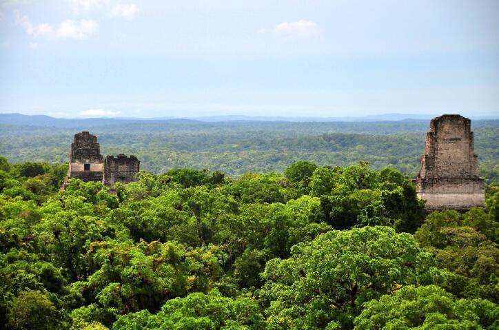 north of Guatemala