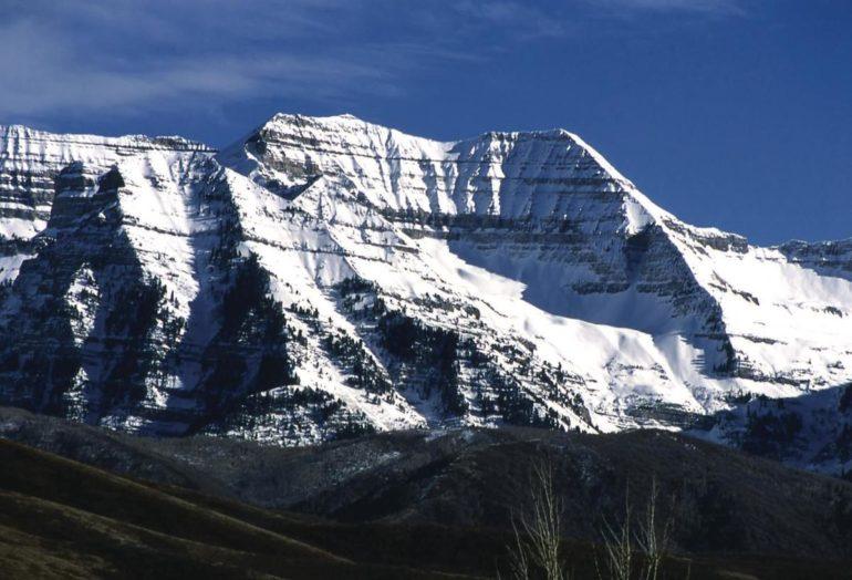 Mount Timpanogos in Utah, USA