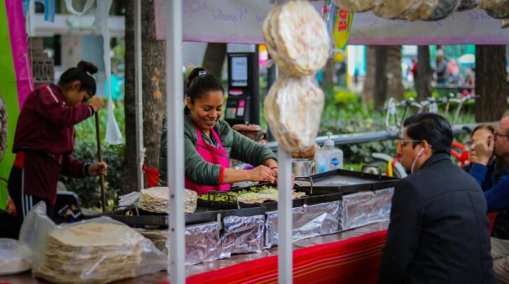 The markets are an important part of Mexican food culture