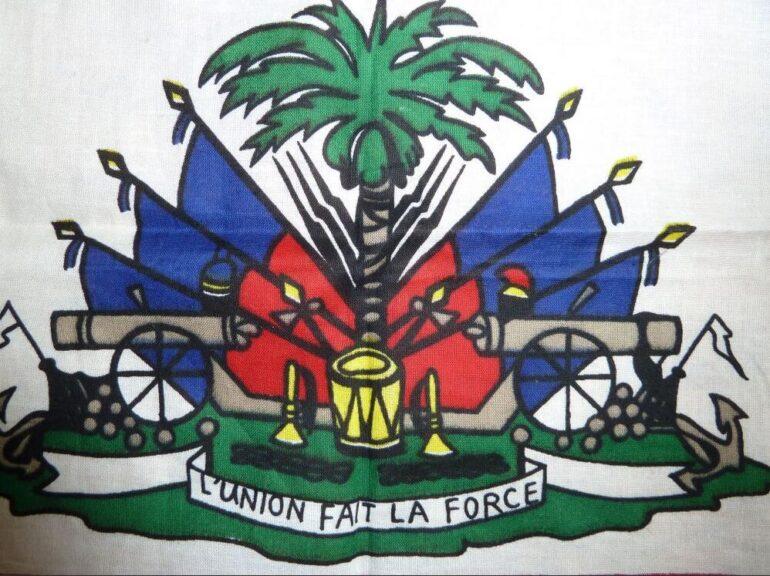 National coat of arms of Haiti