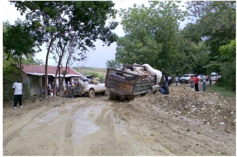Road near Hinche Haiti
