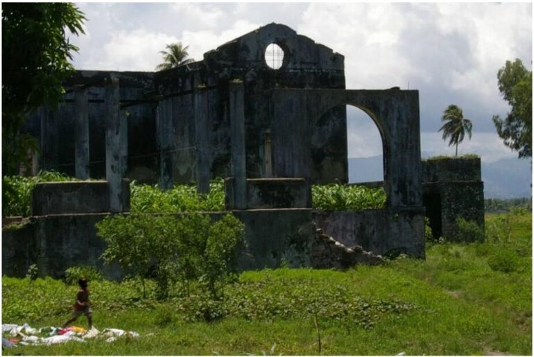 Ruins of Camp Gerard near les Cayes Haiti