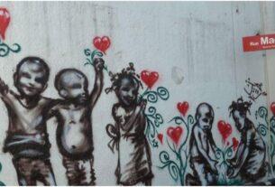 Street art in Petion-Ville Haiti