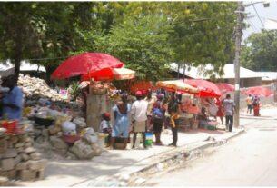 Street in Port-au-Prince Haiti
