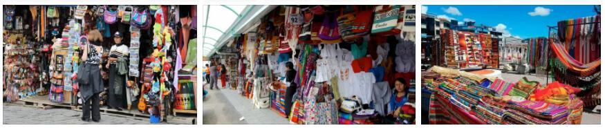 Shopping in Ecuador