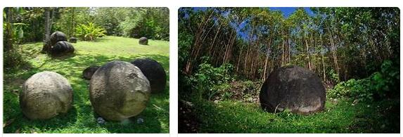 Pre-Columbian settlements and stone balls of the Diquis (World Heritage)